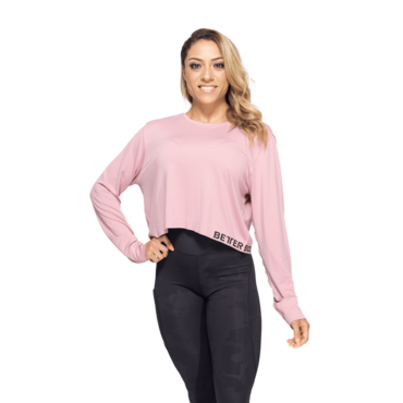 Better Bodies Long Sleeve Rockaway Seamless Pink