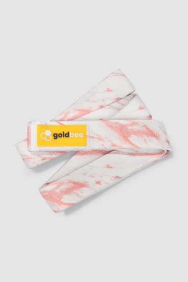 GoldBee Textile Resistance Band Long - Marble Sand