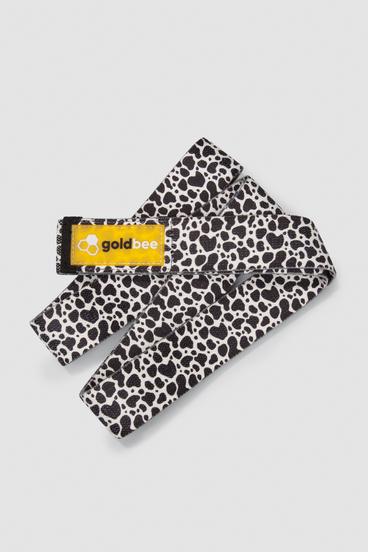 GoldBee Textile Resistance Band Long - Leopard White