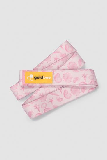 GoldBee Textile Resistance Band Long - Rose Sea