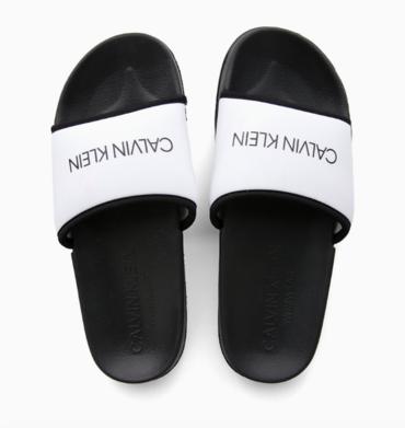 Calvin Klein Pantofle Core Neo Plus White