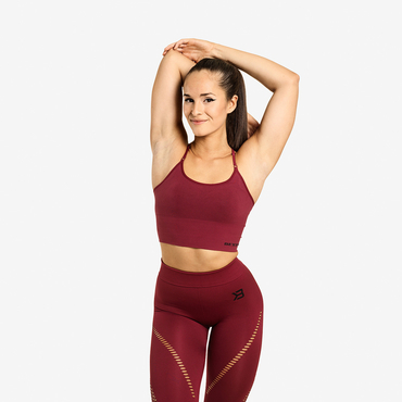 Better Bodies Bra Astoria Seamless Sangria Red