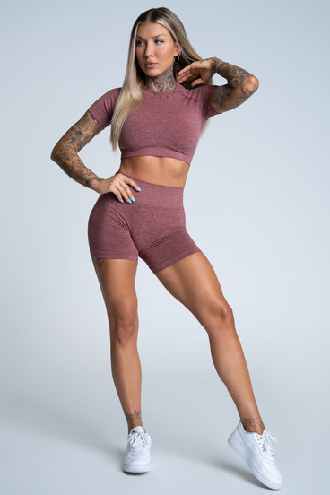 Gym Glamour Shorts Seamless Rose Taupe