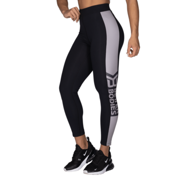 Better Bodies Leggings Chrystie High Black/Steel Grey