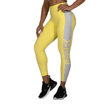 Better Bodies Leggings Chrystie High Lemon Yellow