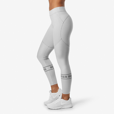 Better Bodies Leggings Chrystie Shiny Frost Grey