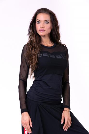 Nebbia T-Shirt 664 Flash-Mesh Black