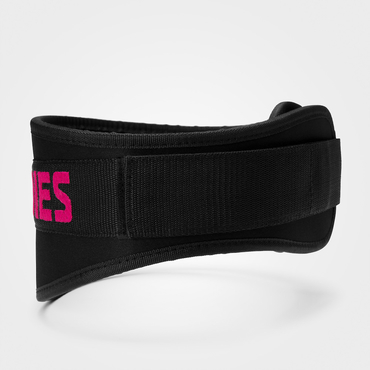 Better Bodies Weightlifting Belt - Black / Pink