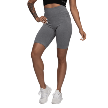 Better Bodies Shorts Rib Seamless Grey Melange