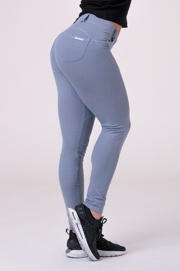 Nebbia Leggings 537 Bubble Butt Squat Dreamy Edition Blue