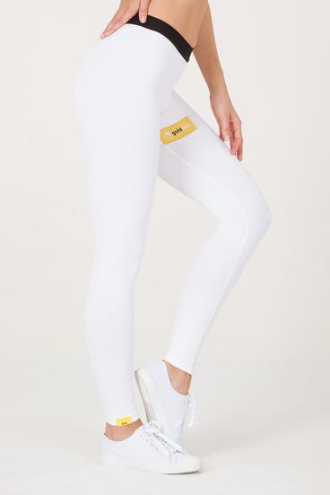 GoldBee Leggings BeSticker Inside White