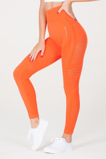 Naine 2.0. Seamless Leggings - Orange
