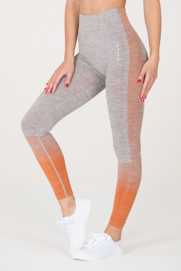 Naine 3.0. Seamless Leggings - Orange Highlights