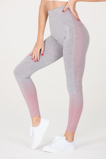 Naine 3.0. Seamless Leggings -  Pink Highlights