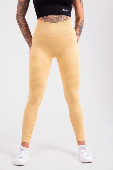 GoldBee Leggings BeSeamless Pale Gold