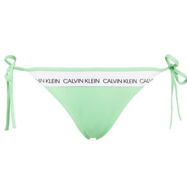 Calvin Klein Plavky CK Logo Green Spodní Díl