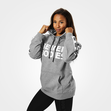 Better Bodies Hood Trinity Grey Melange