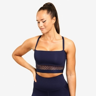 Better Bodies Bra  Waverly Mesh Dark Navy