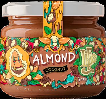 LifeLike Almond Coconut Choco - 300g