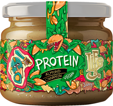 LifeLike Protein Almond Cinnamon - 300g