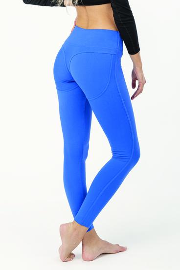 Naine 1.0. Push-up Leggings - Blue