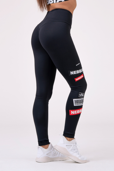 Nebbia Leggings 504 High Waist Labels - Black