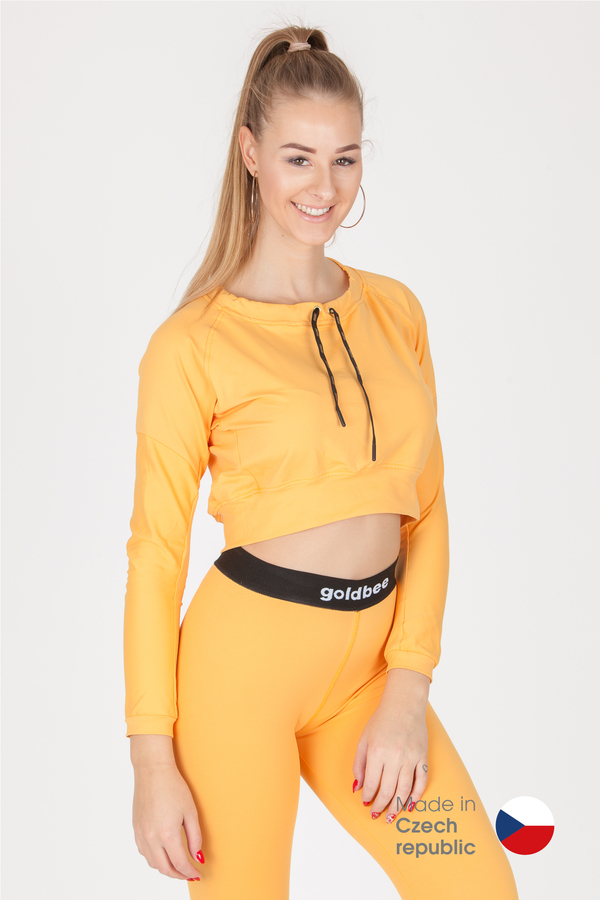 GoldBee Crop-Top BeCool Sweet Apricot, L - 1
