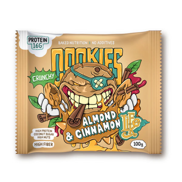 LifeLike Cookies Almond Cinnamon - 100g