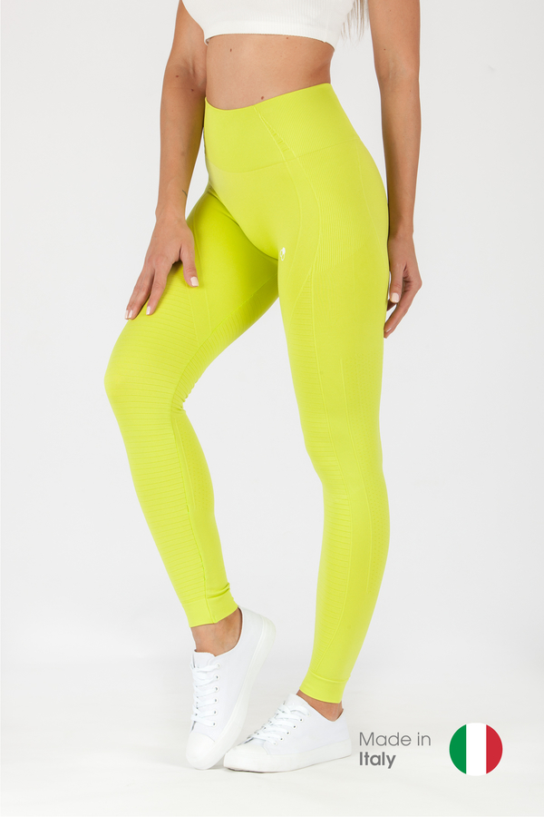 GoldBee Leggings BeSeamless Lime - 1