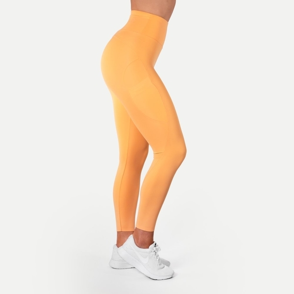 Better Bodies Legíny High Waist Light Orange - S, S - 1