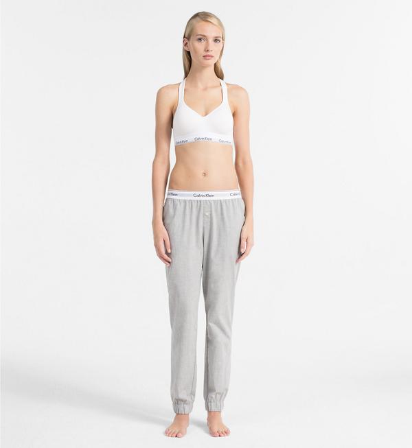 Calvin Klein Sweatpants Šedé - 1