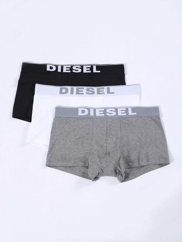 Diesel 3Pack Boxerky Bílé, Černé &Šedé - 1