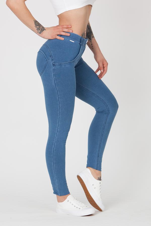 Boost Jeans Mid Waist P Light Blue - S, S - 1