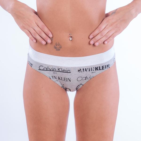 Calvin Klein Kalhotky Heritage Šedé - 1