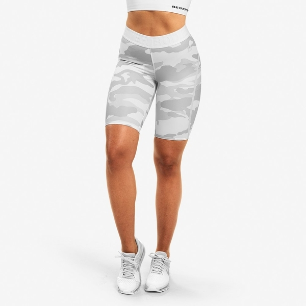 Better Bodies Shorts Chelsea White Camo - 1