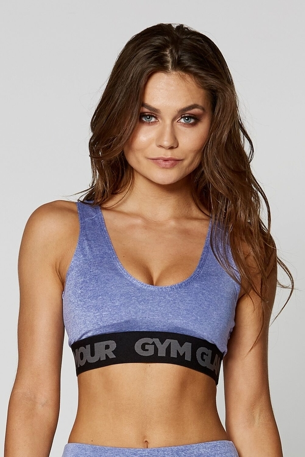 Gym Glamour Bra Purple Basic - 1