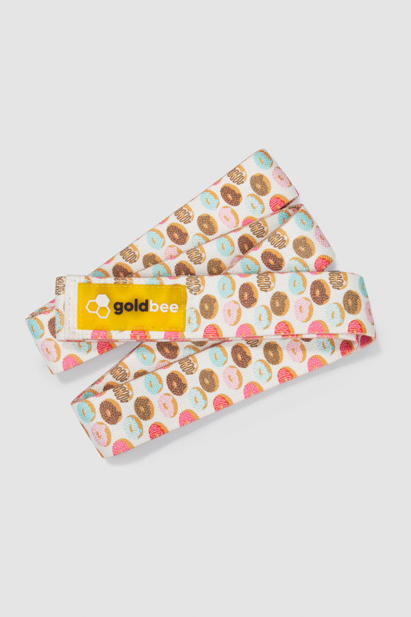 GoldBee Textile Resistance Band Long - Donuts - 1