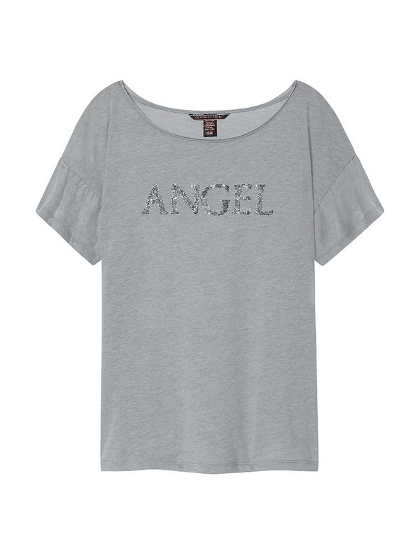 Victoria´s Secret Tričko Grey Angel - 1