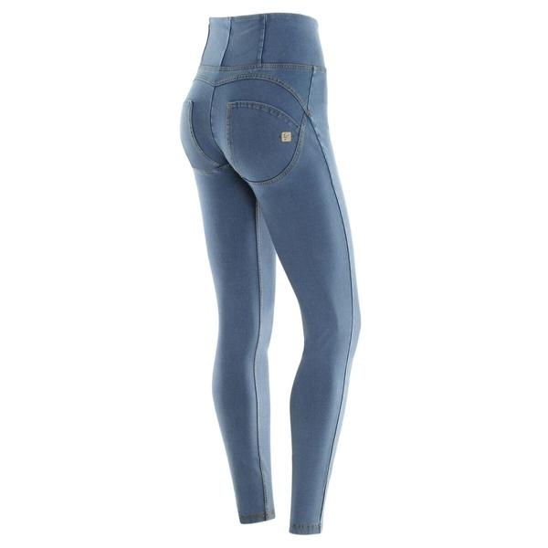 Freddy Jeans Světle Modré Vysoký Pas FW19 - XXS, XXS - 1