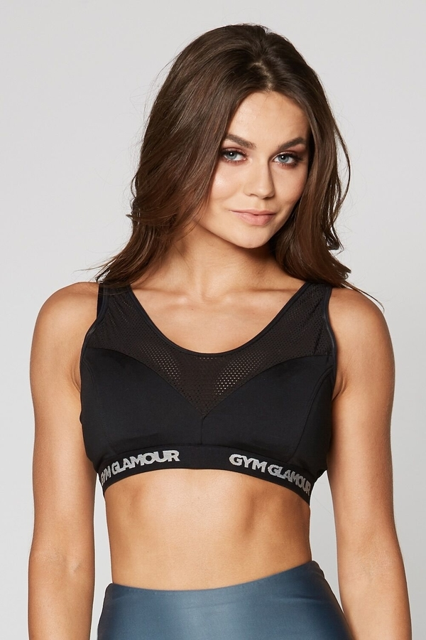 Gym Glamour Fitness Bra Black - 1