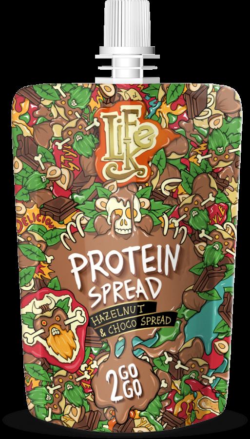 LifeLike Protein Hazelnut Choco 2GOGO - 80g