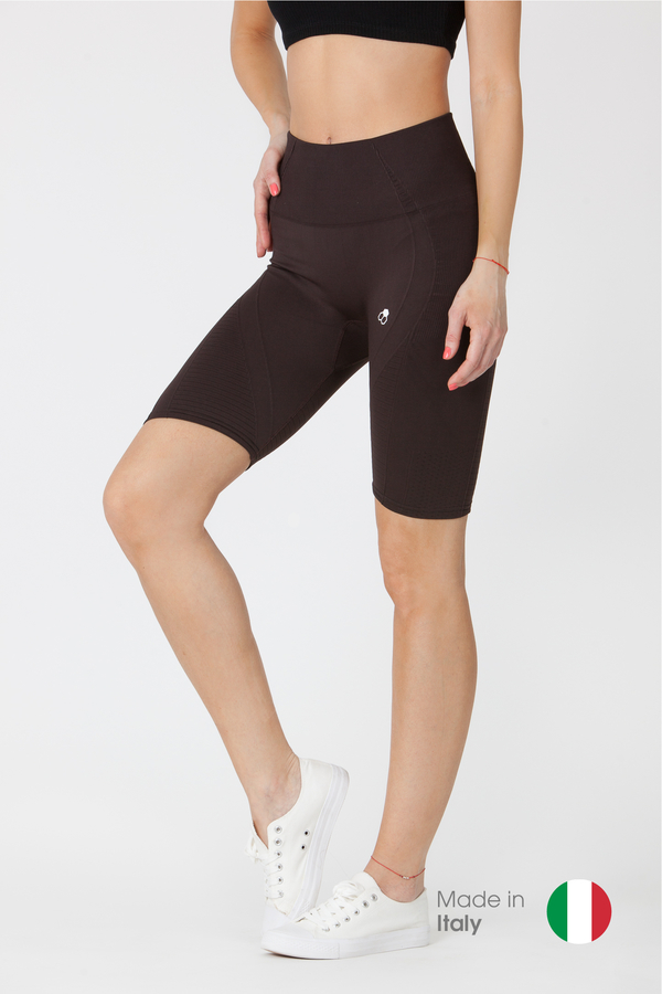 GoldBee BeSeamless Shorts Black Coffee - 1