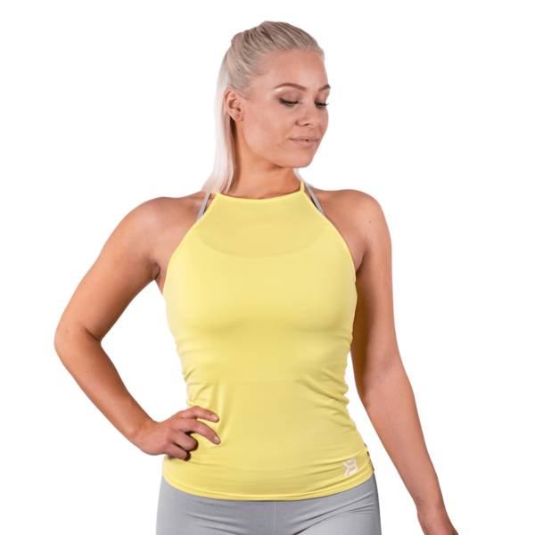 Better Bodies Tílko Performance Lemon Yellow - XS, XS - 1