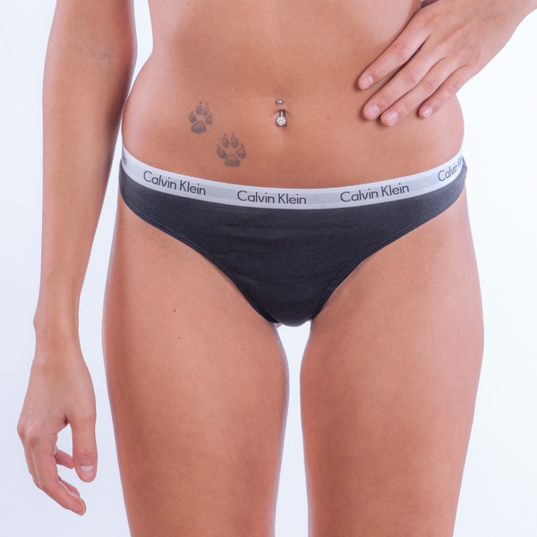 Calvin Klein 3Pack Thong Black - M, M - 1