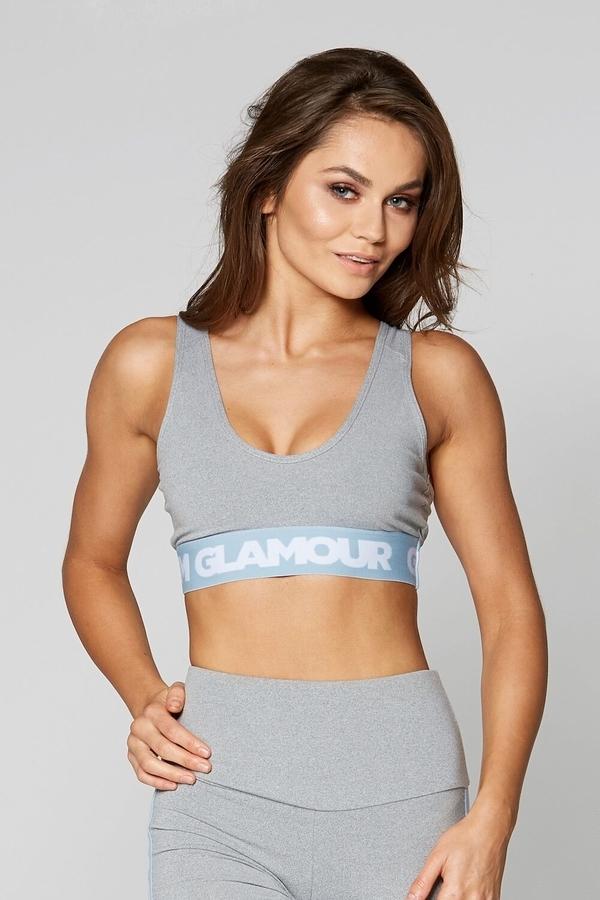 Gym Glamour Bra Grey Basic - 1