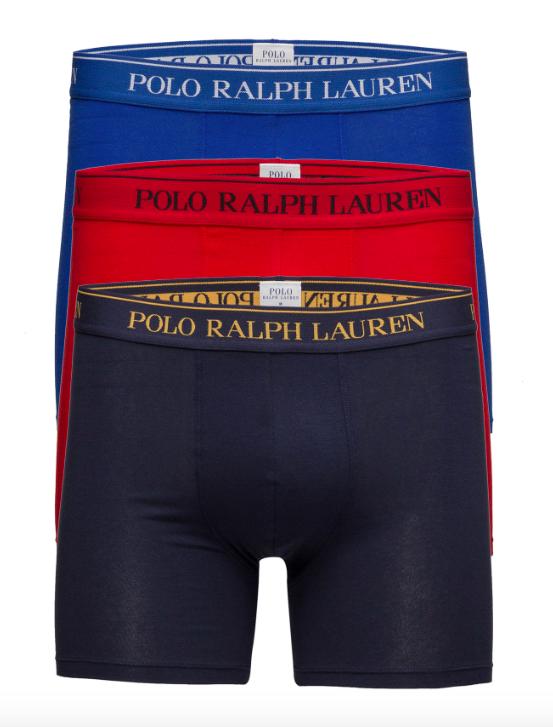 Ralph Lauren 3Pack Boxerky Navy&Blue&Red - XL, XL - 1