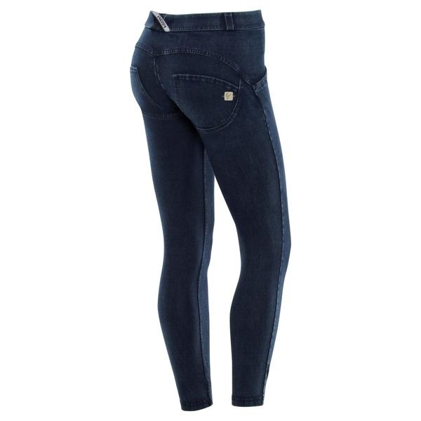 Freddy Jeans 7/8 Modré S Modrými Švy Normální Pas SS18 - XS, XS - 1