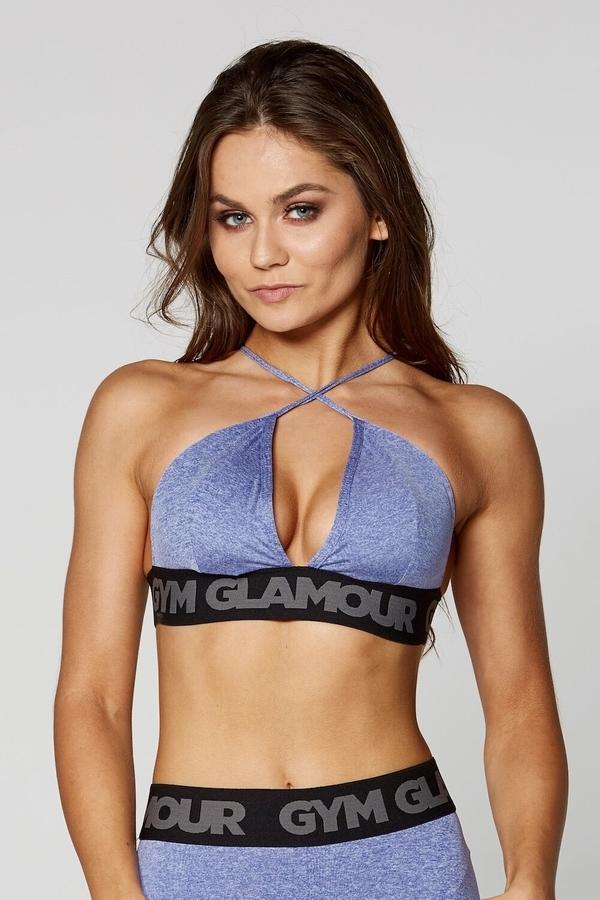 Gym Glamour Podprsenka Purple Sexy String - S, S