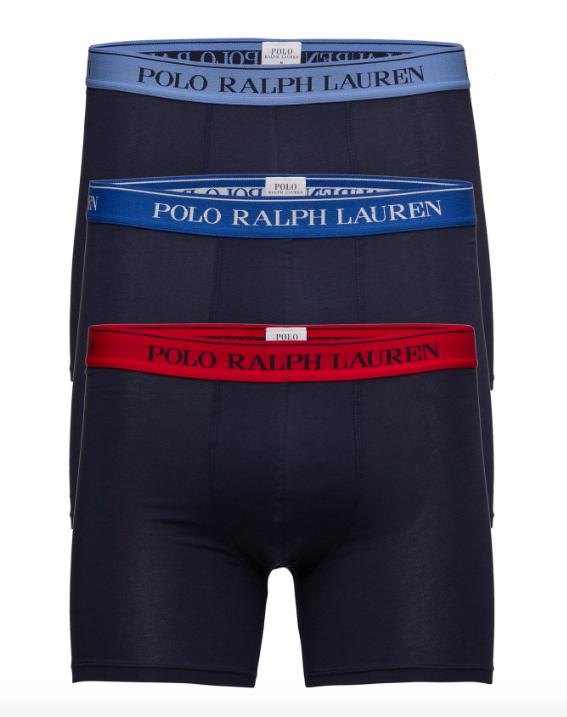 Ralph Lauren 3Pack Boxerky Navy&Sapphire - L, L - 1