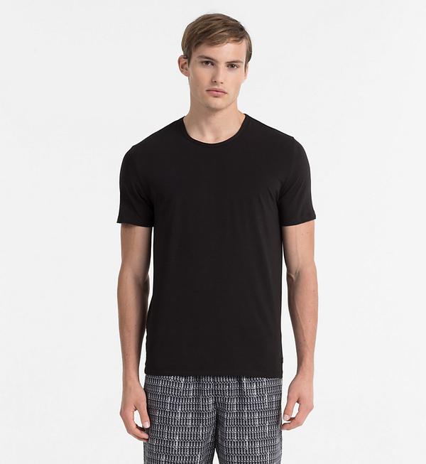 Calvin Klein Pánské Tričko CK Black - M, M - 1